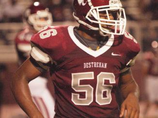 Junior linebacker RaeJuan Marbley