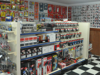 A section of Dealer Services' performance parts shop, to be opened Aug. 1.